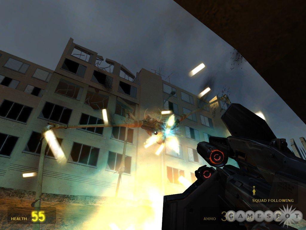Strider turrets can quickly kill you, especially since they're usually fired at close range.