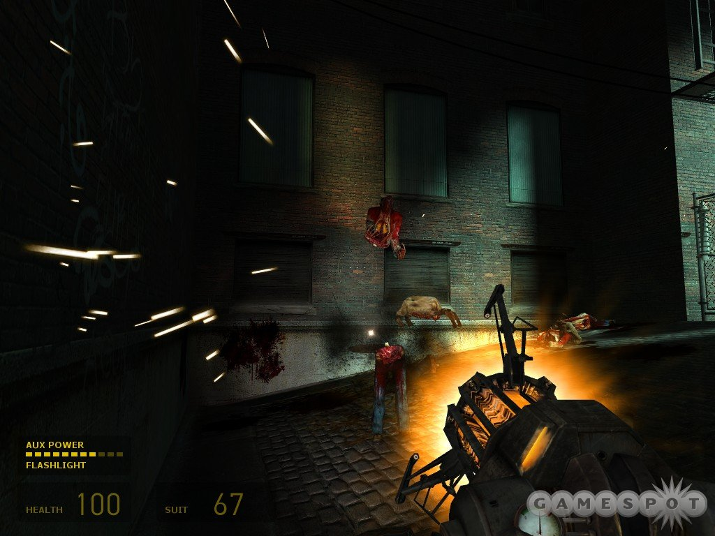 Saw blading zombies to death is pretty much pure catharsis.