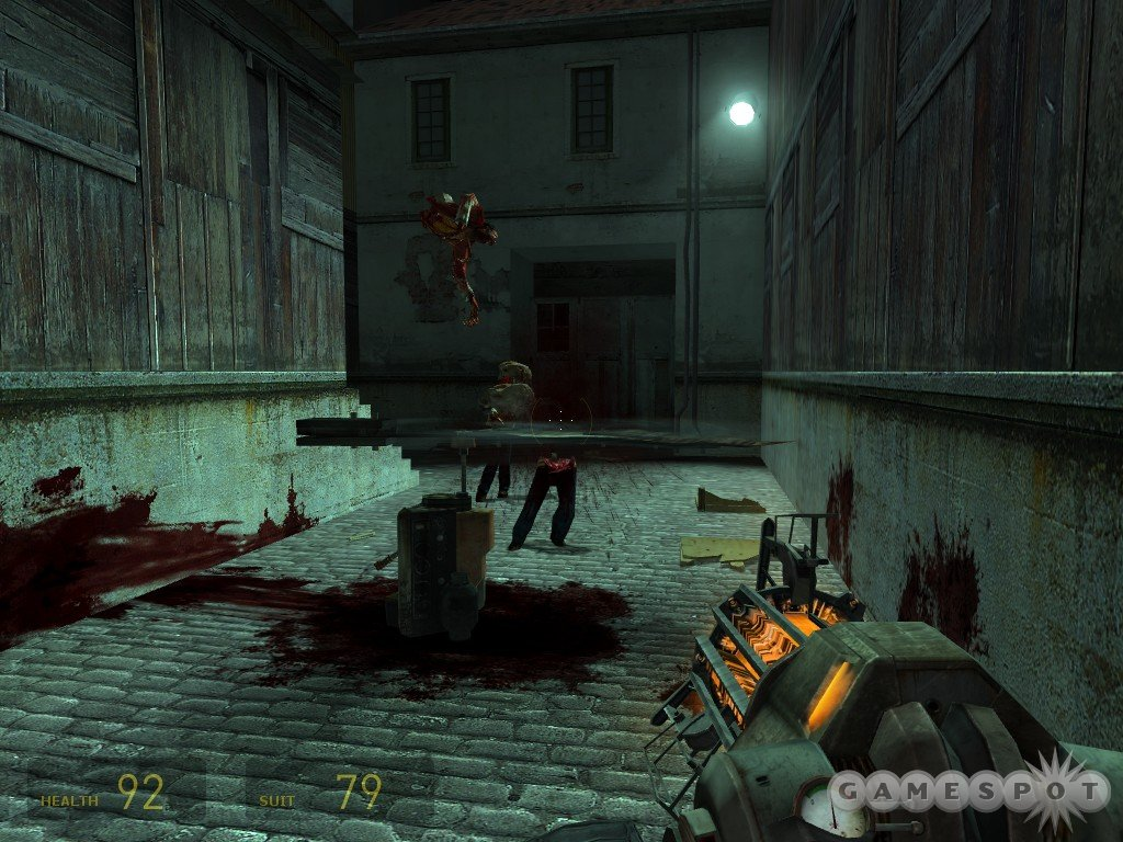 No zombies were harmed in the making of this game. Well...maybe just a few.