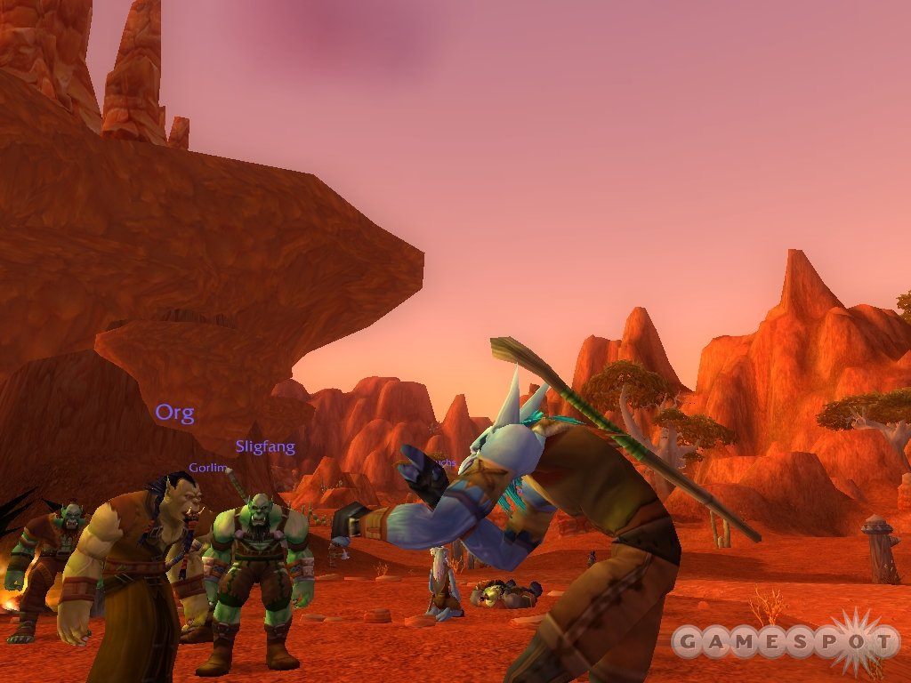The imaginative world of Azeroth is already teeming with players.