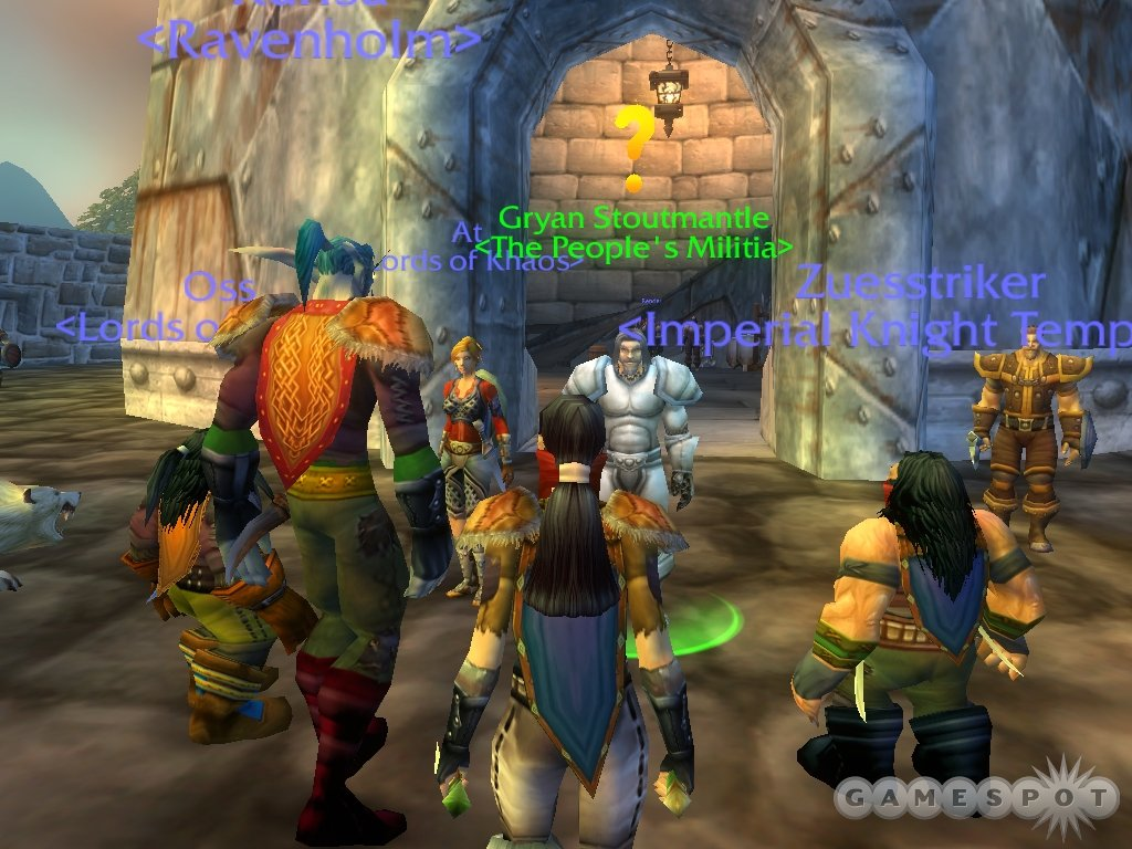 Questing in World of Warcraft helps lend a sense of purpose to all your hunting and exploring.