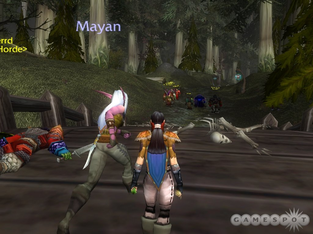 Player-versus-player combat pits the alliance against the horde. It's fun already, but it has lots more potential.