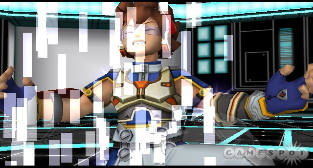 Sei is the hero of Virtua Quest, and you can tell, because he has cool goggles.