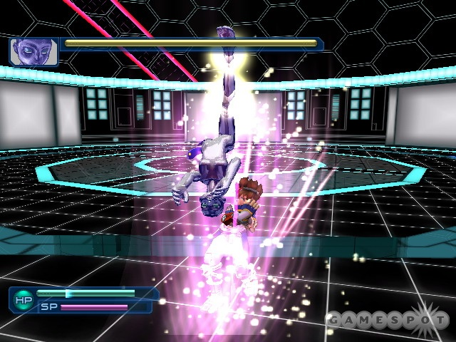 You'll have quite a few combat options thanks to the Virtua Souls.