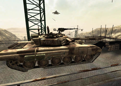 Get ready for multiplayer mayhem with tanks, gunboats, attack helicopters, jeeps, and APCs--all on the same map.