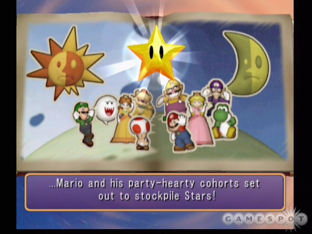Mario and the gang are back to party on the GameCube.