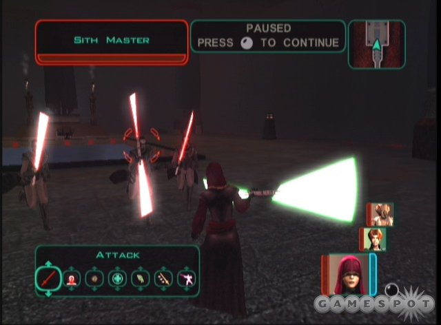 This will be a very familiar experience for Knights of the Old Republic fans, but a completely new story and some new gameplay twists help keep it fresh.