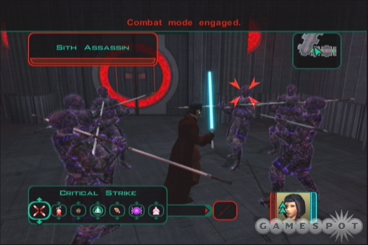 High-level Consulars can completely dominate groups of enemies with their mastery of the Force.