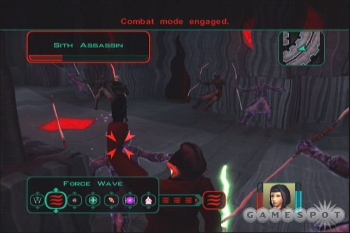 Although Force Wave doesn't do much damage, it's one of the best crowd control powers in the game thanks to its stunning effects.