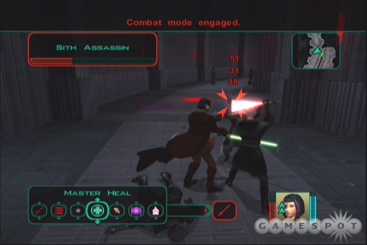 Even single-lightsaber Jedi can get three attacks per round with Speed.