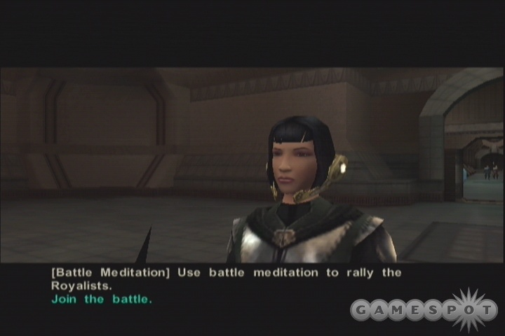 Battle meditation can be used outside of combat...but only once.