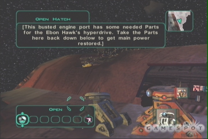 There are plenty of tutorial pop-ups in the Prologue; use them to get acquainted with the game mechanics if you never played the first KOTOR.