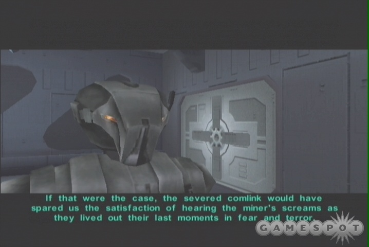 It wouldn't be KOTOR without a sadistic assassin droid, now would it?