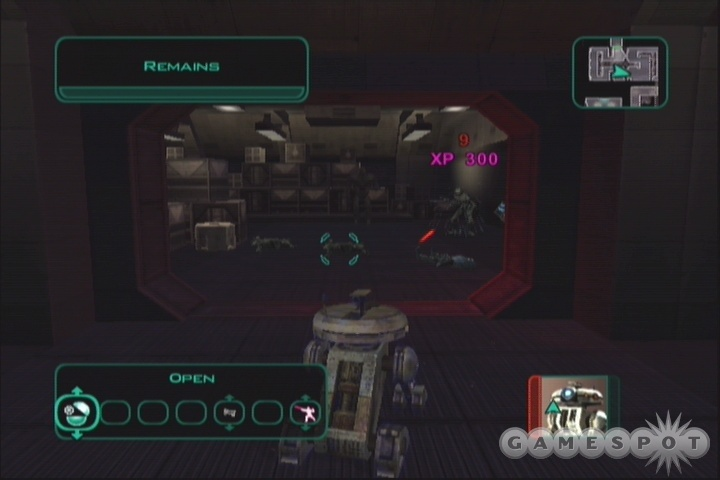 With the Renewable Shield, even a fleet of assassin droids wouldn't be able to take down T3.