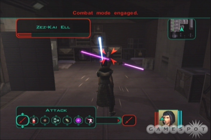 Dark Jedi will have to kill off Zez - this is where the game starts becoming rough for Dark Side Consulars.
