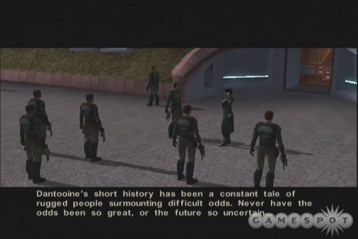 If you want to inspire the troops, give them a rousing speech before the assault of the mercenaries.