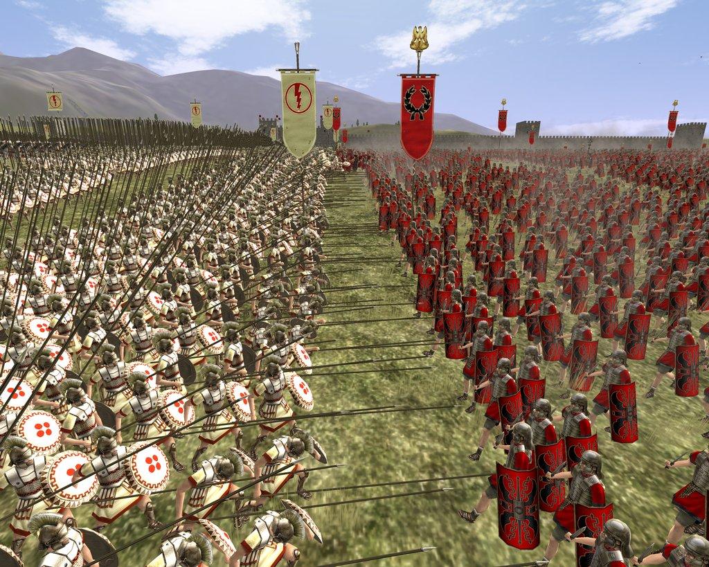 See screenshots of Rome: Total War