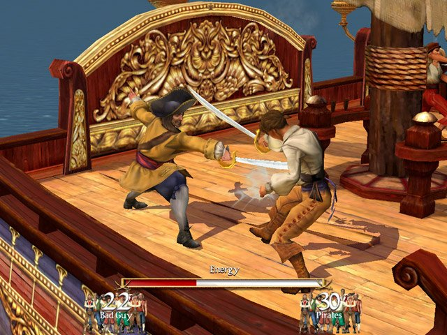 See screenshots of Sid Meier's Pirates!