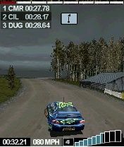 There's nothing dainty about Colin McRae's brand of racing.