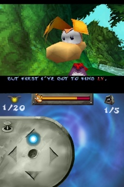 Rayman DS is a port of the Nintendo 64 version of Rayman 2.