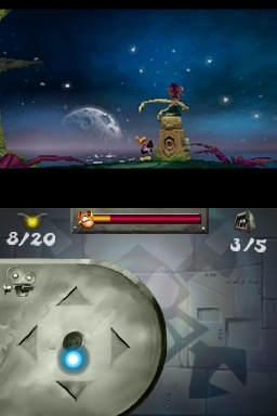 The jerky motion in Rayman DS might be enough to make your stomach churn.