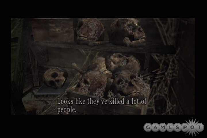 Grisly sights like these don't faze Leon S. Kennedy, but they might well disturb you...in a good way!
