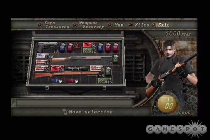 Leon can pack a lot of heat, but you'll need to think carefully about which weapons to bring to bear.