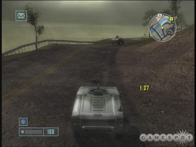 The GTA comparisons are unavoidable, but Mercenaries has a pretty original pastiche of influences.