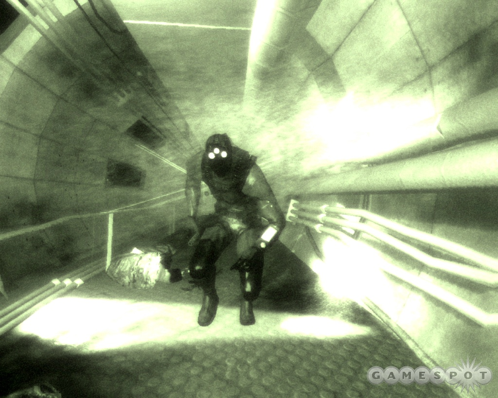 As before, your gadgets will play a big part in Sam Fisher's covert missions.