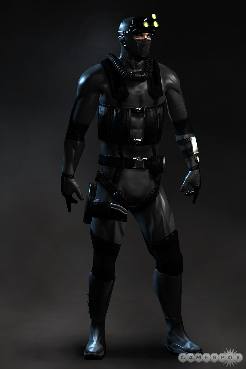 Somehow, they managed to make Sam Fisher look even badder.