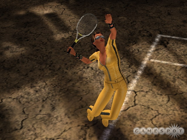 You can unlock new characters, outfits, and racquets throughout the game.