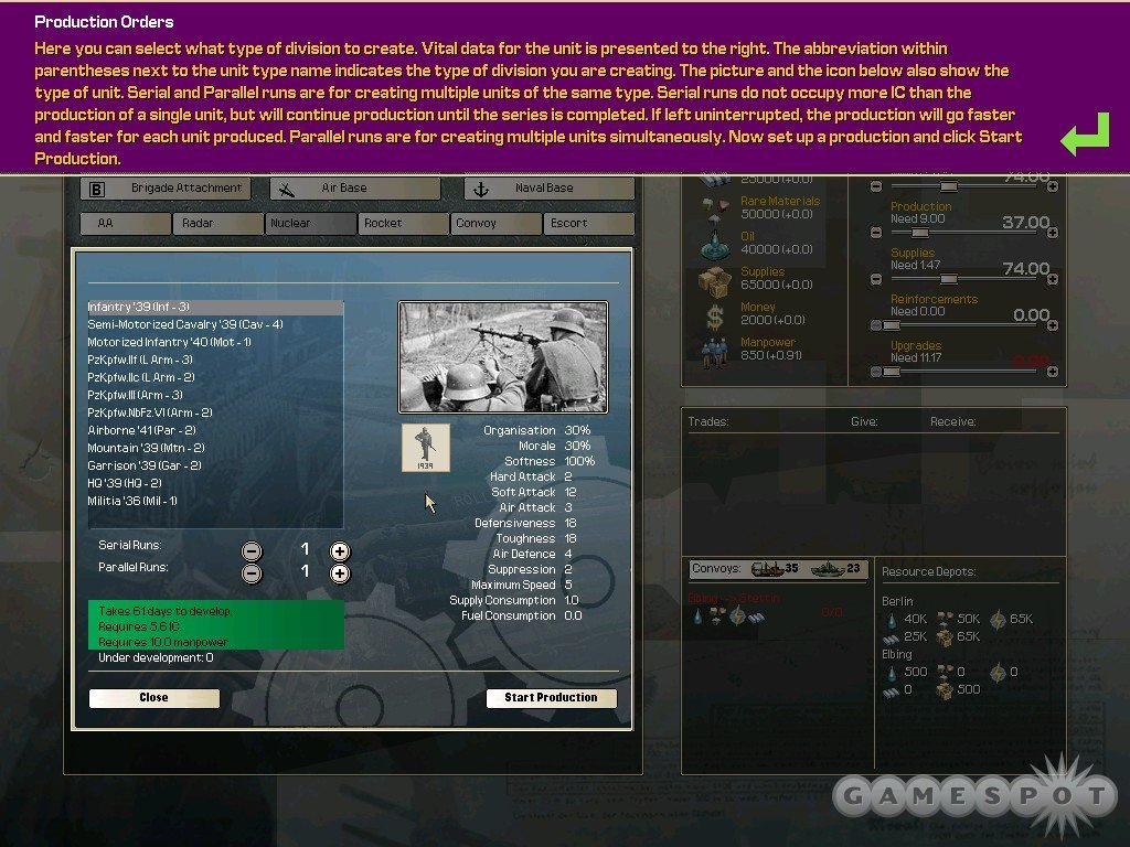 Useful tutorials are a nice change of pace from what Paradox typically provides.