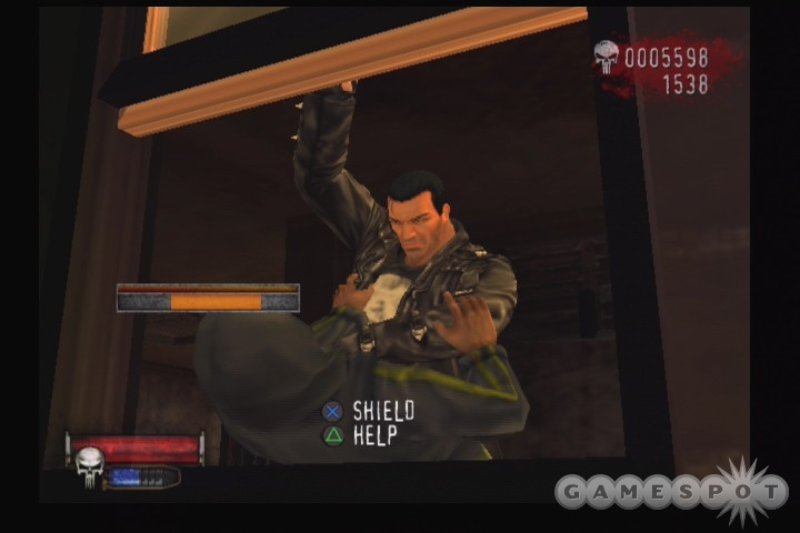 Frank Castle goes through a handful of different costumes as you play.