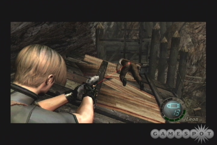 If you can knock an enemy down with a kick, you'll be able to easily slash at them with your knife. Or, you know, shoot them in the butt.