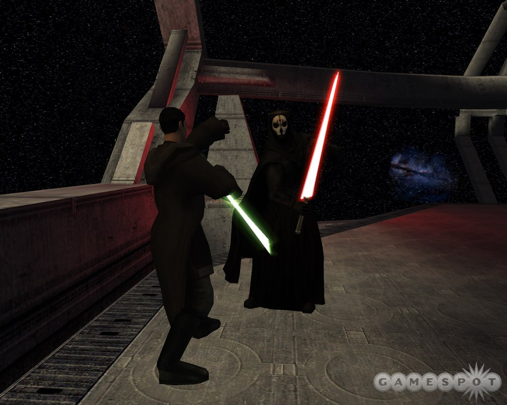 The lightsaber is an elegant weapon from a more civilized age.