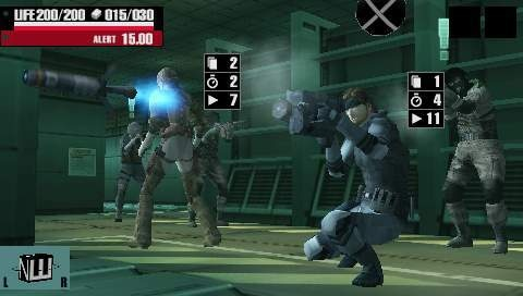 If it weren't for the whole card-battling thing, you might mistake Acid for the next stealth action Metal Gear.