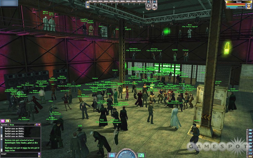 Even in the virtual world there are raves.