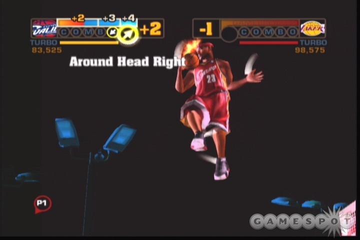 Three-man gamebreaker dunks are new to the NBA Street series.