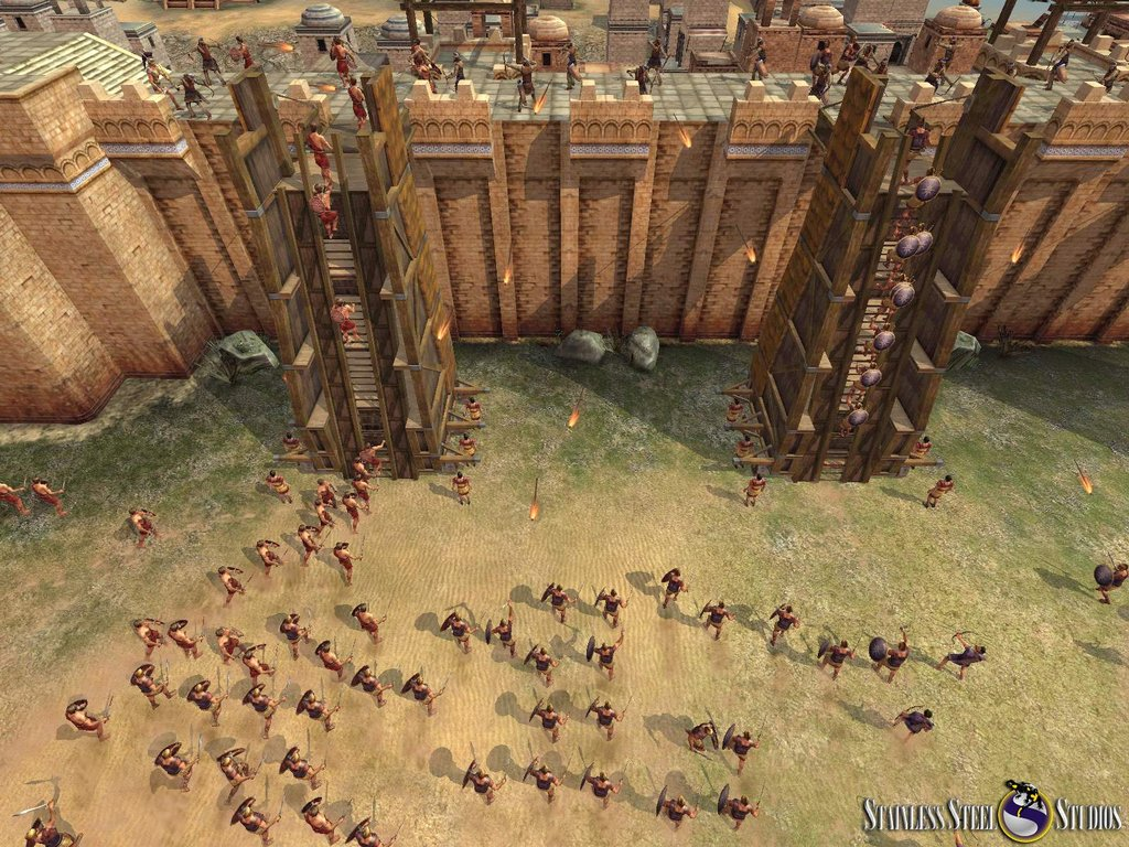Sieges play a big part in the game, and they look beautiful.