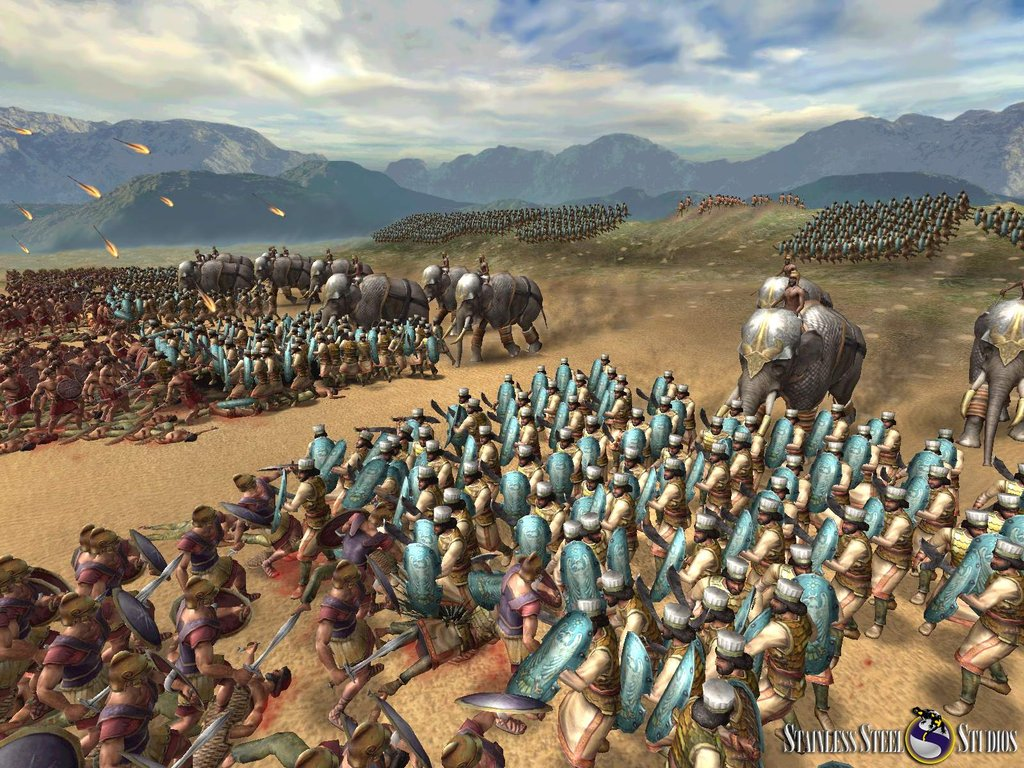 It wouldn't be an ancient world RTS without elephant charges.
