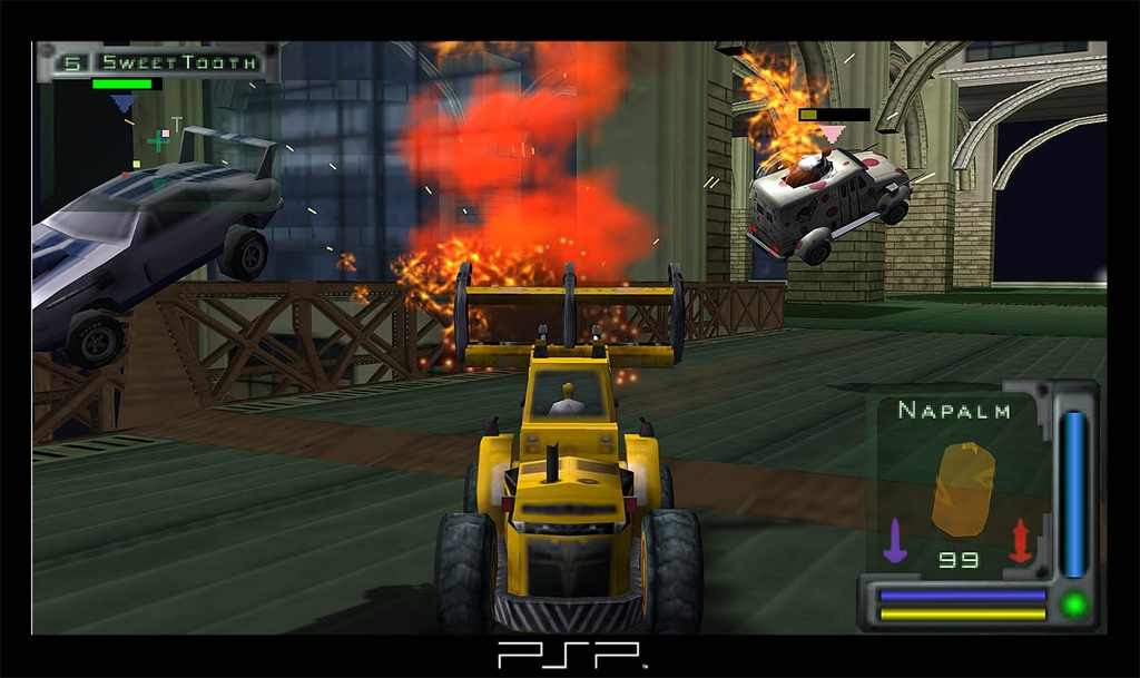 Twisted Metal: Head-On is an all-around great game that's easy to recommend to new PSP owners.