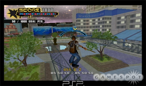 It's hard to believe THUG 2 made the leap to the PSP so easily.
