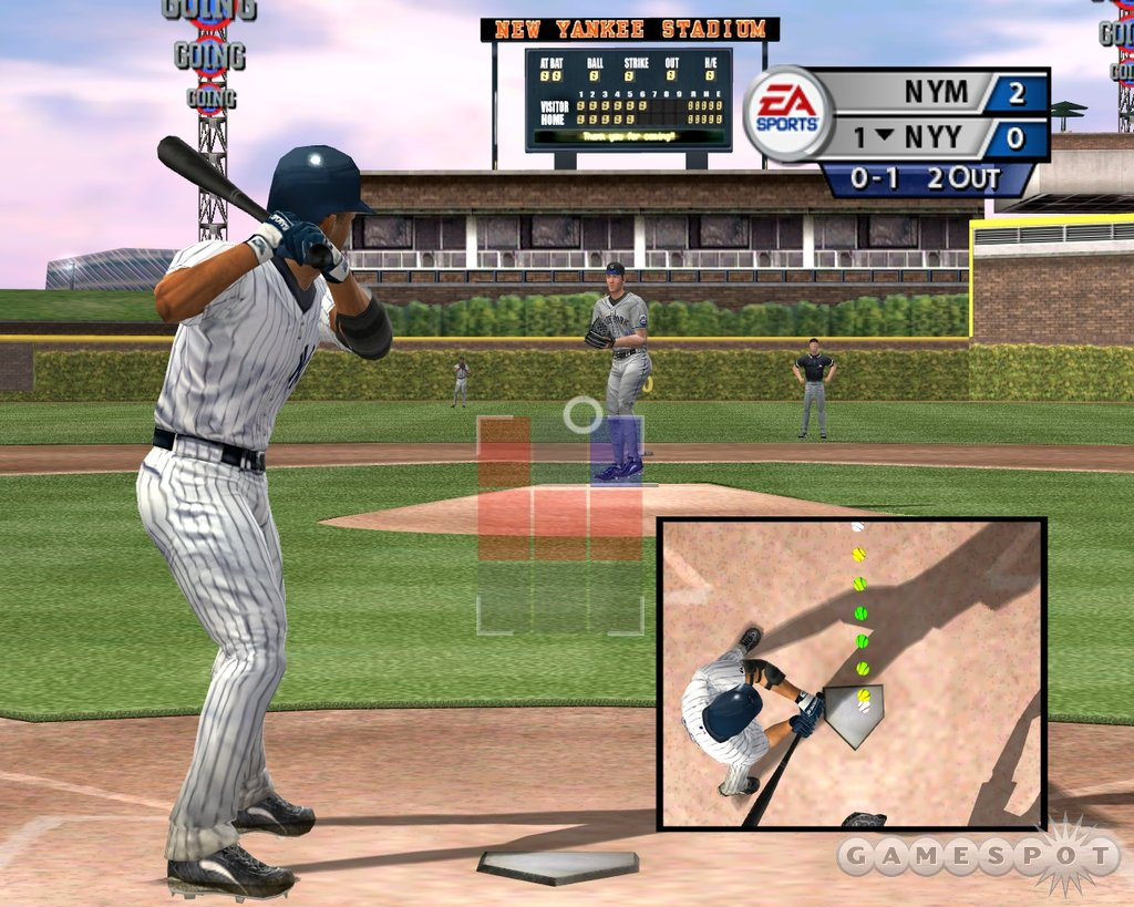 Owner mode lets you build New Yankee Stadium, but the tiny facility looks more like a triple A park than a successor to 'the House That Ruth Built.'