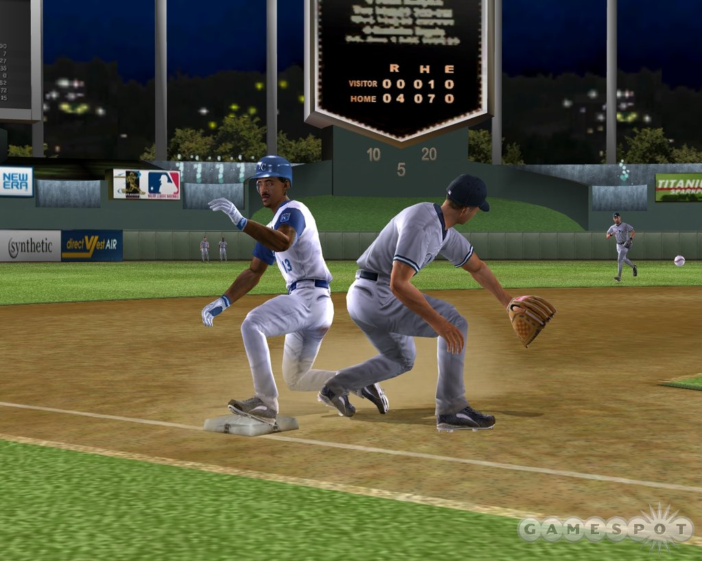 Earn that triple with a hard slide past A-Rod.