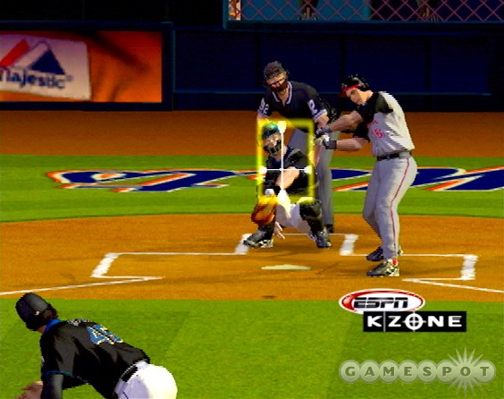 The ESPN license is obvious, both in replays and in the pitching and baserunning interfaces.