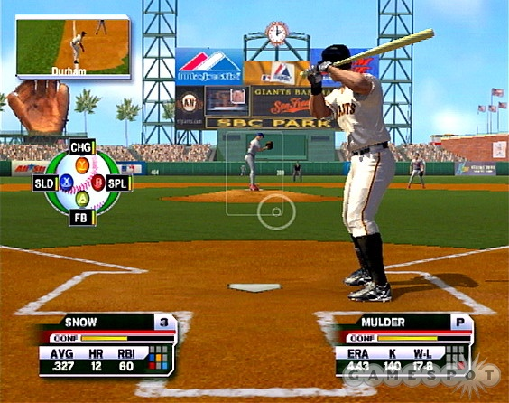 Pitching incorporates the ESPN K-Zone display.