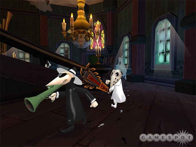 Mad's famous little secret agents hit the new generation of consoles in Vicious Cycle's upcoming Spy vs. Spy.