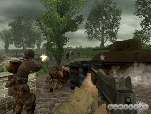 Brothers in Arms puts you in the boots of an elite paratrooper, so suck it up and get the job done.