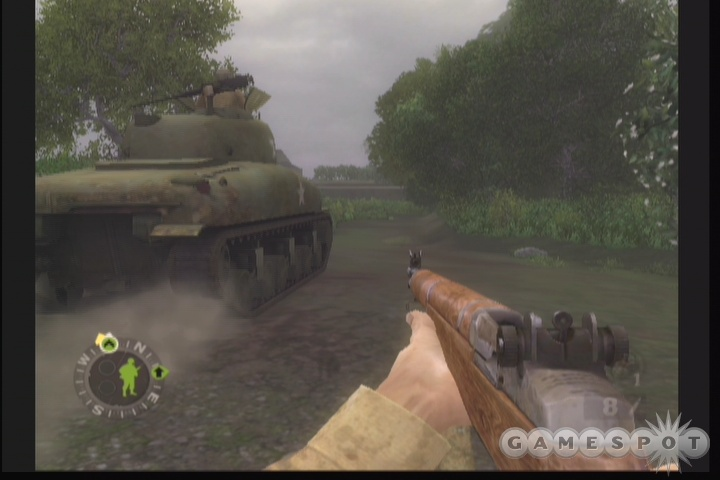 Tanks play a large role in the game, both as your allies and your enemies.