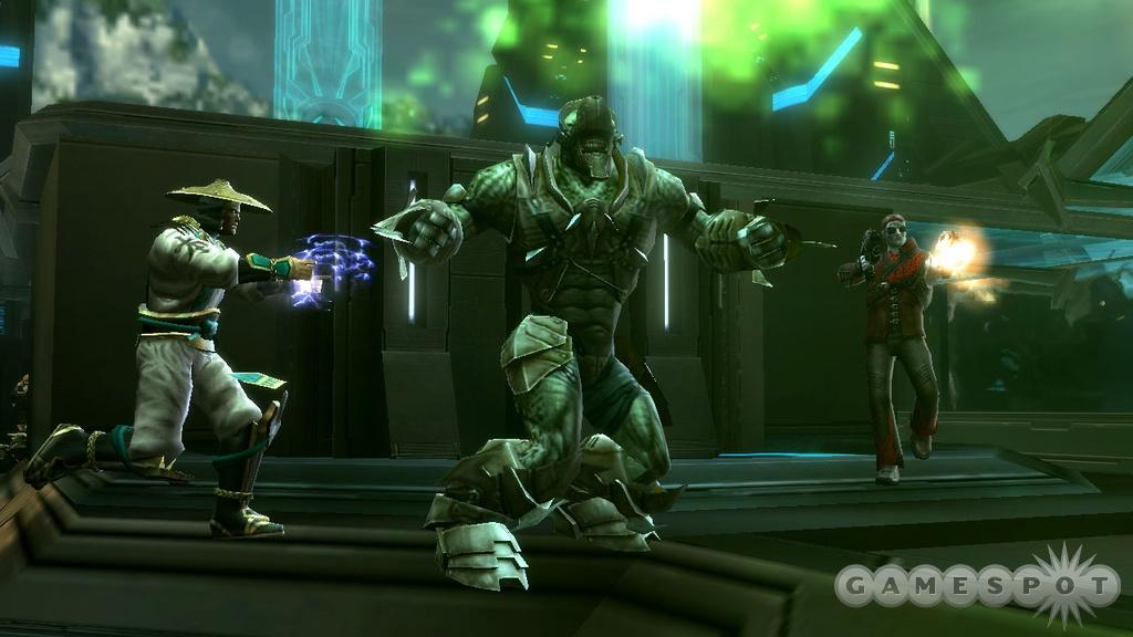 Mortal Kombat fans, rejoice--Raiden will be lighting up the action in UC2 online.